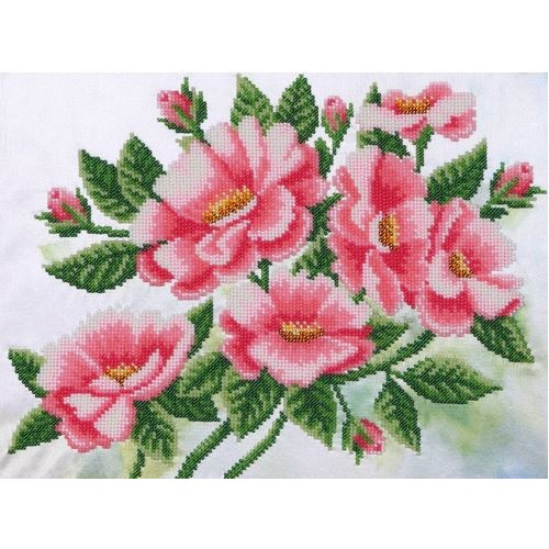 """Набор для вышивания """"Шиповник цветет"""""""
