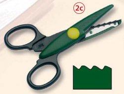 Фигурные ножницы, №2с, 14*6,5см, Folia