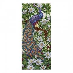 """Ткань с печатью для вышивки бисером """"Райский сад"""" Т-0492"""