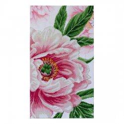 """Ткань с печатью для вышивки бисером """"Пышная красота"""" Т-0860"""