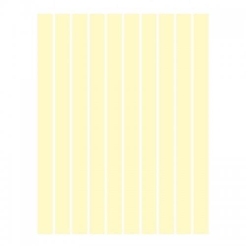 Набор полосок бумаги для квиллинга, слоновая кость