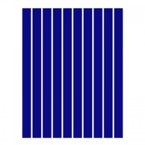 Набор полосок бумаги для квиллинга, синий темный