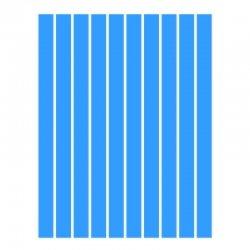 Набор полосок бумаги для квиллинга, синий интенсив