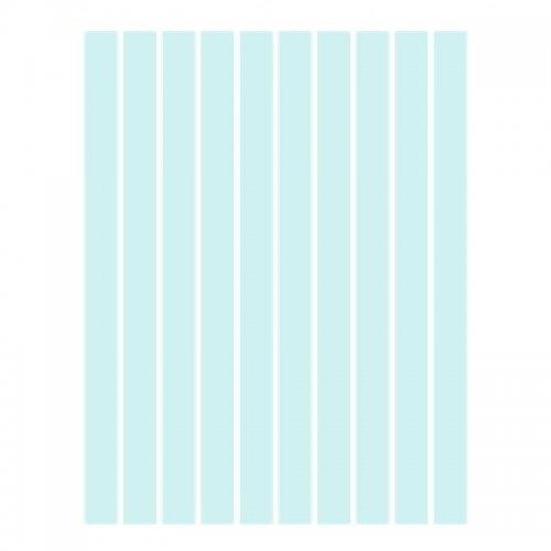Набор полосок бумаги для квиллинга, голубой