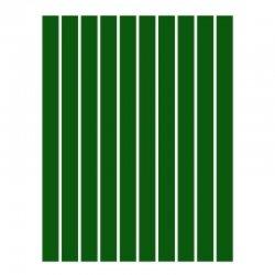 Набор полосок бумаги для квиллинга, зеленый темный