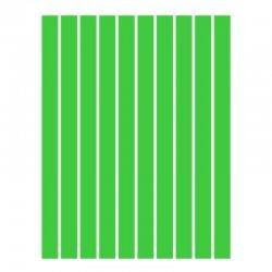 Набор полосок бумаги для квиллинга, зеленый интенсив