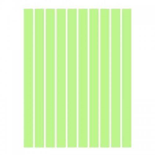 Набор полосок бумаги для квиллинга, зеленый пастель