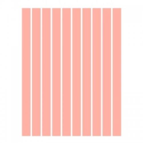 Набор полосок бумаги для квиллинга, розовый