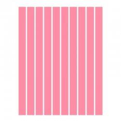 Набор полосок бумаги для квиллинга, розовый неон