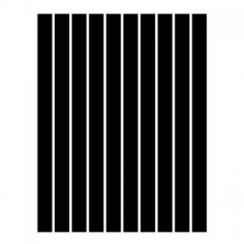 Набор полосок бумаги для квиллинга, черный