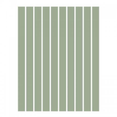 Набор полосок бумаги для квиллинга, серый