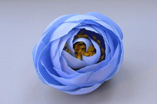 Голова пиона голубой