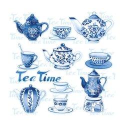 "Декупажные салфетки ""Tea Time"", 33*33 см, 18,5 г/м2, 20 шт, Abiente"