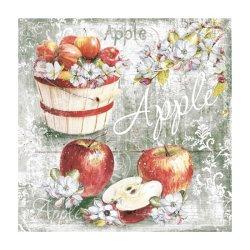 "Декупажные салфетки ""Яблока"", 33*33 см, 17,5 г/м2, 20 шт, ti-flair"