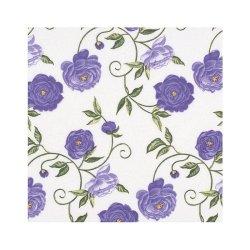 """Декупажные салфетки """"Цветочный орнамент"""", фиолетовые, 33*33 см, 17,5 г/м2, 20 шт, ti-flair"""