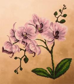 """Набор для вышивки бисером """"Розовые орхидеи"""""""