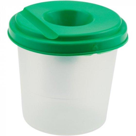 Стакан-непроливайка, зеленый