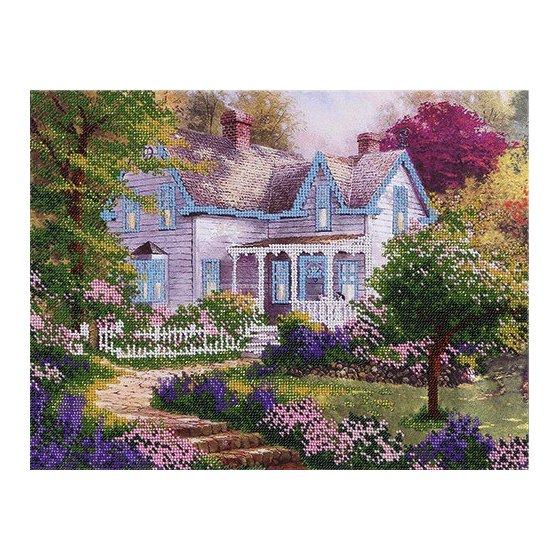 """Набор для вышивания """"Загородный домик"""" (Код: ТН-0304)"""