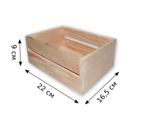 Заготовка ящик из дерева