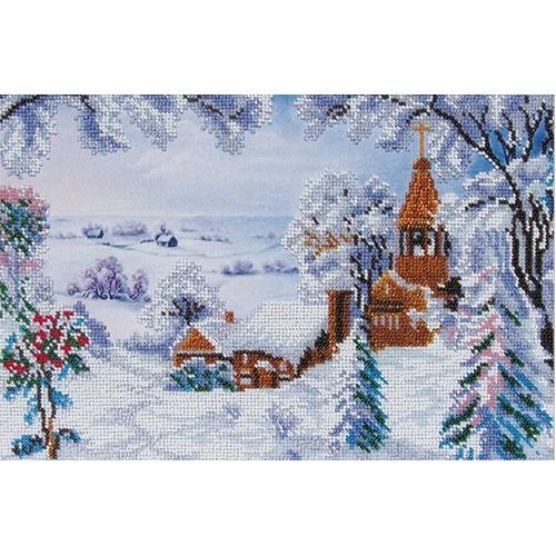 """Набор для вышивания """"Зимний пейзаж"""""""