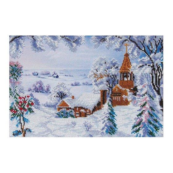 """Набор для вышивания """"Зимний пейзаж"""" (Код: ТН-0184)"""